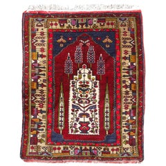 Turkish Vintage Wedding Rug