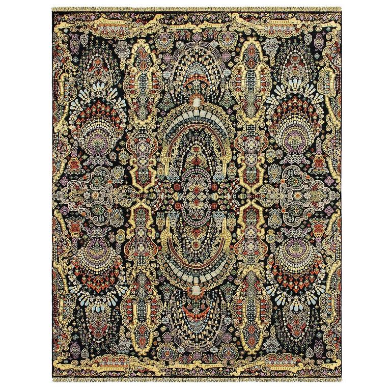 Indian Agra Rug For Sale