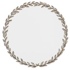 Estrid Ericson Mirror with Pewter Laurel Wreath Frame