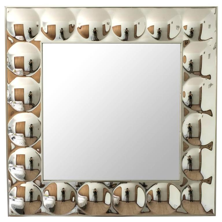 Iconic Pop Art Turner Bubble Framed Mirror At 1stdibs