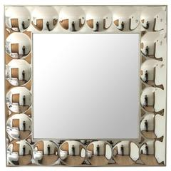 Iconic Pop-Art Turner Bubble Framed Mirror