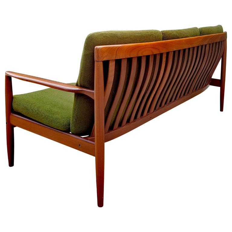 Rare Rosewood Grete Jalk Sofa For P Jeppesen 1950s