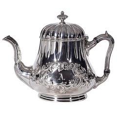Grosjean & Woodward Sterling Silver Teapot