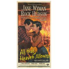 """All That Heaven Allows"" Original US Film Poster"