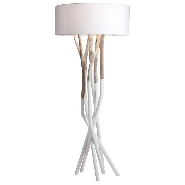 Outli floor lamp for sale at 1stdibs for Appliques bois flotte