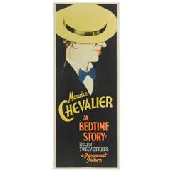 """""""A Bedtime Story"""" Original US Film Poster"""