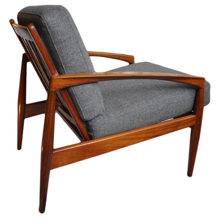 Mid-Century rosewood Kai Kristiansen Paperknife Chair 1