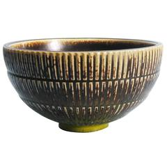 Large Bowl by Arno Malinowski, Denmark, Royal Copenhagen, 1940s
