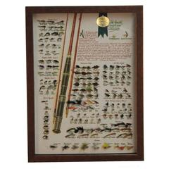 Amstel Connoisseur Collection Fly Fishing Shadowbox