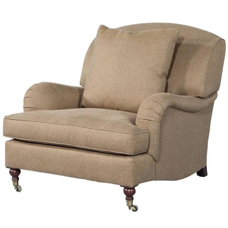 american designer wyland velvet lounge chair for sale at 1stdibs. Black Bedroom Furniture Sets. Home Design Ideas