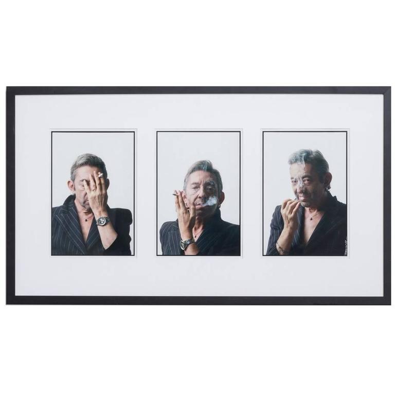 Pierre Terrasson Portrait of Serge Gainsbourg, 1989