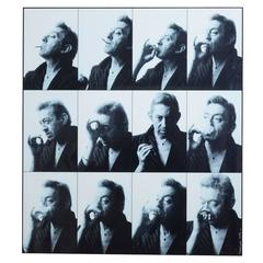 Pierre Terrasson 12 Miniature Portraits of Serge Gainsbourg, 1989 Print