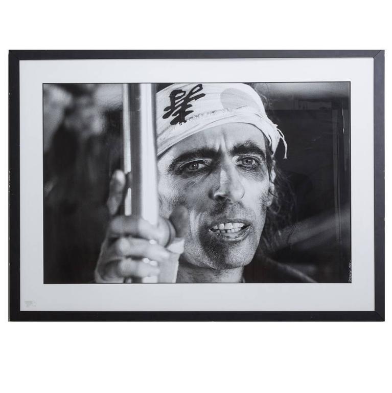 Pierre Terrasson Portrait of Alice Cooper, 1981
