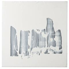 "Martha Sturdy, Resin on Steel Canvas, Contemporary ""Drag #384"""