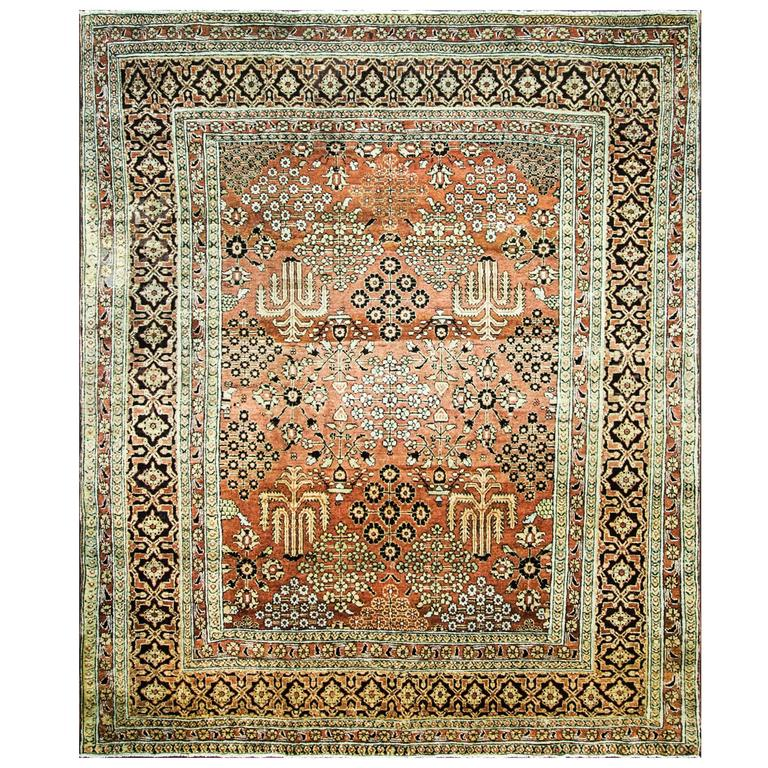 Antique Sultanabad Carpet For Sale At 1stdibs