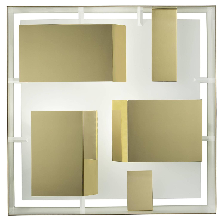 Wall Light Quadro: Quadro Di Luce, Gio Ponti, Re-Edition By Pollice