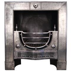 18th Century English Register Fireplace Grate
