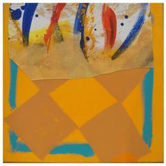 Sandra Blow Collage Orange/Form and Gesture, 2002