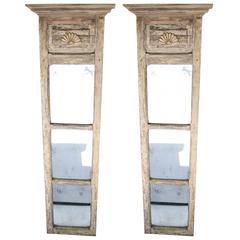 """Pair of 18th-19th Century Door """"Trumeaus"""""""