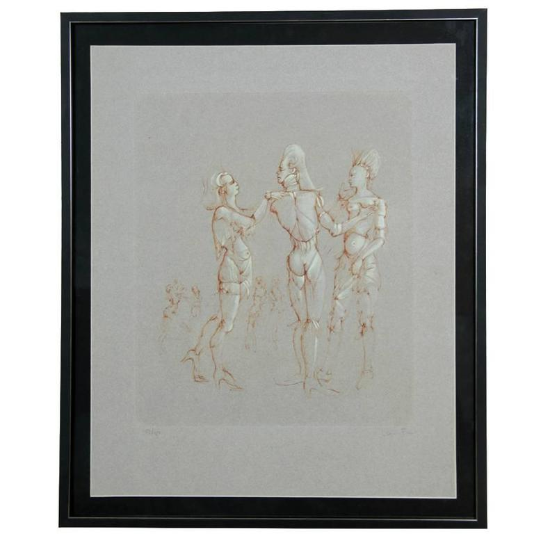 French Giclee Print Limited Edition