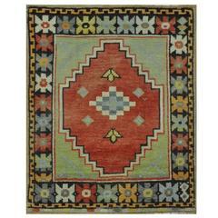 Small Turkish Anatolian Rug