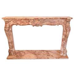 Stunning Beaux Arts Marble Mantel