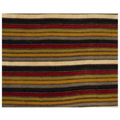 Vintage Anatolian Wool Kilim Rug