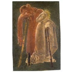 Jean Lambert-Rucki Painting, Les Aveugles, 1942
