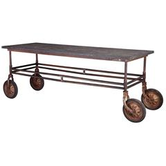 Stone Top Factory Table