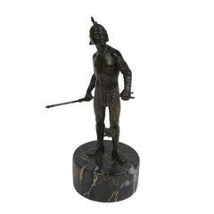 Bronze Gladiator Statue