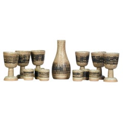 Gordon & Jane Martz for Marshall Studios Beverage Set, 13 Pieces