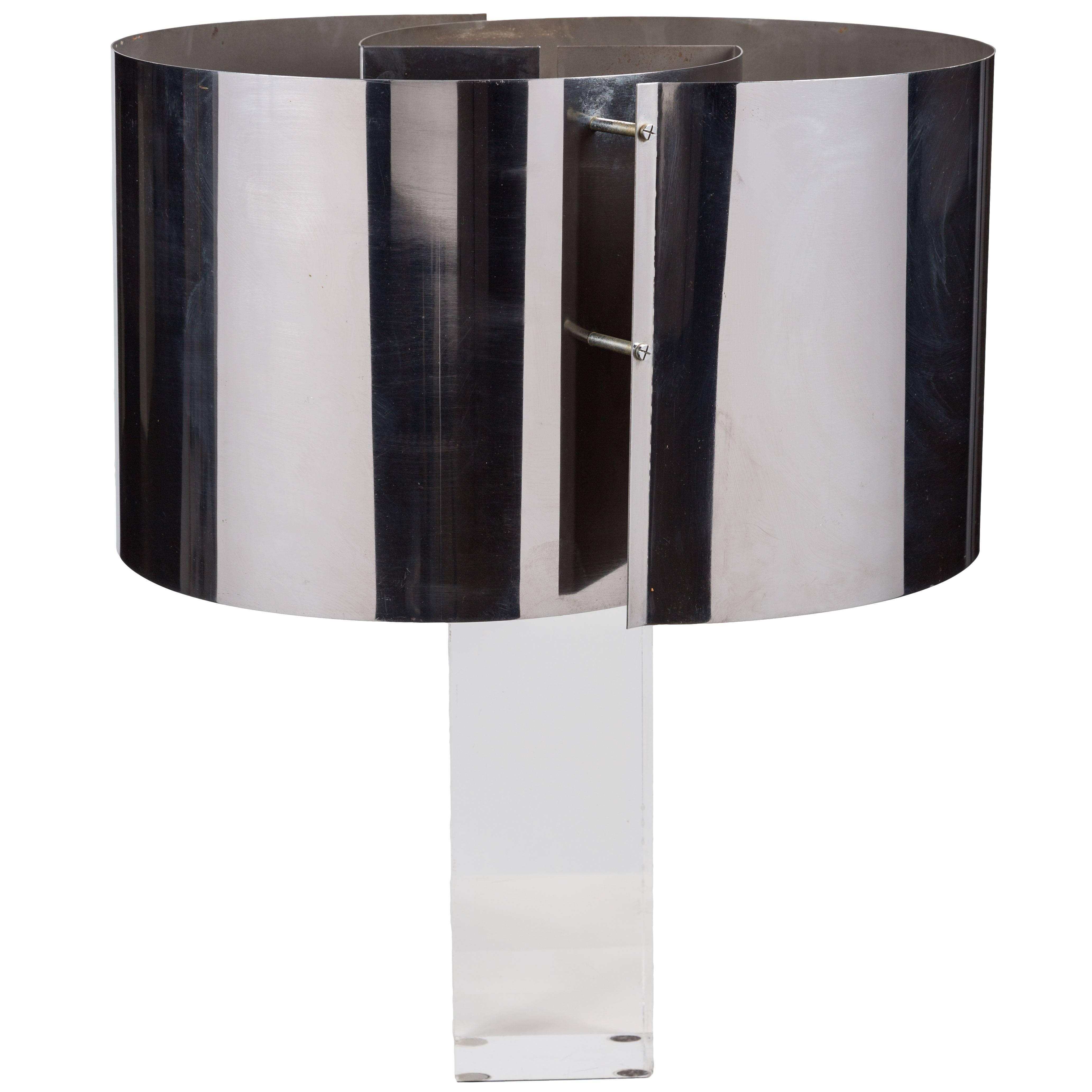 Rare Table Lamp by Gianfranco Fini & Fabrizio Cocchia