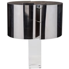 Rare Table Lamp by Gianfranco Fini & Fabrizio Cocchia