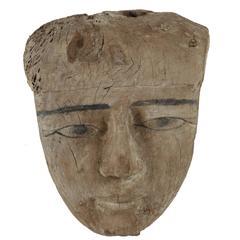 Ancient, Egyptian Mummy Mask