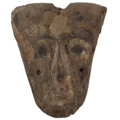 Ancient, Egyptian Sarcophagus Mask