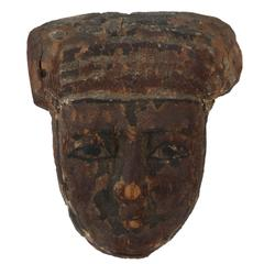 Ancient, Egyptian Burial Mask