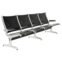 Tandem Sling by Ray and Charles Eames for Herman Miller, Four-Seat