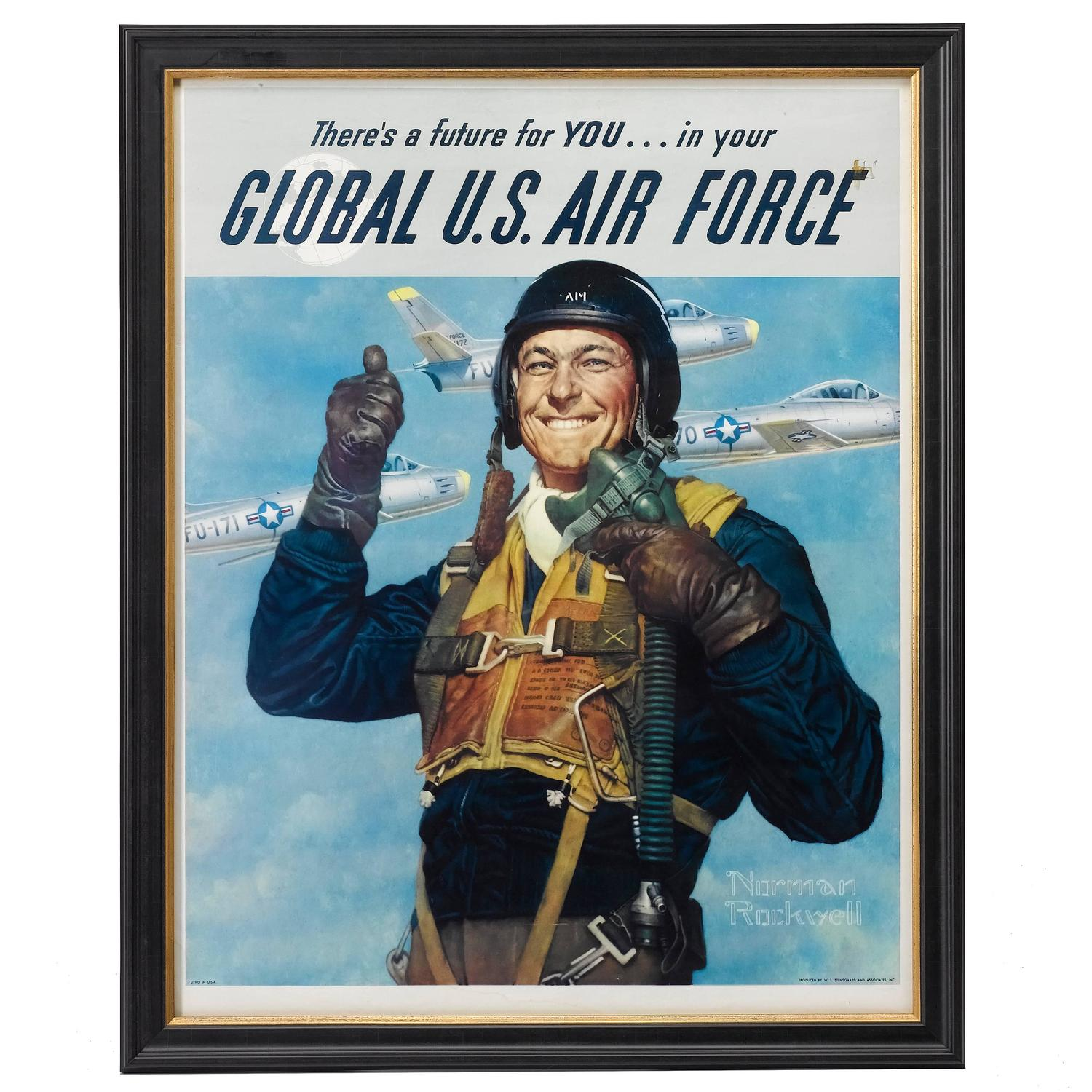 Quot Global U S Air Force Quot Korean War Poster By Norman