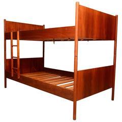 Westnofa Danish Modern Bunk Beds in Teakwood