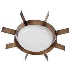 Ceiling Light by Gio Ponti for Arredoluce, Italy, 1960s