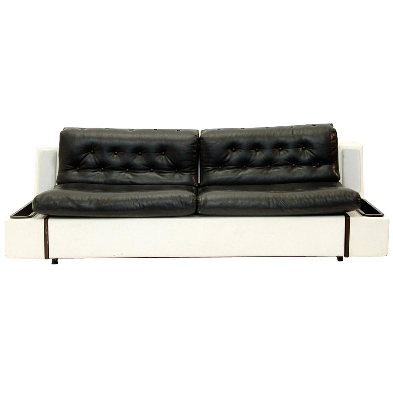 Mid Century Italian Sofa Bed 1960s At 1stdibs