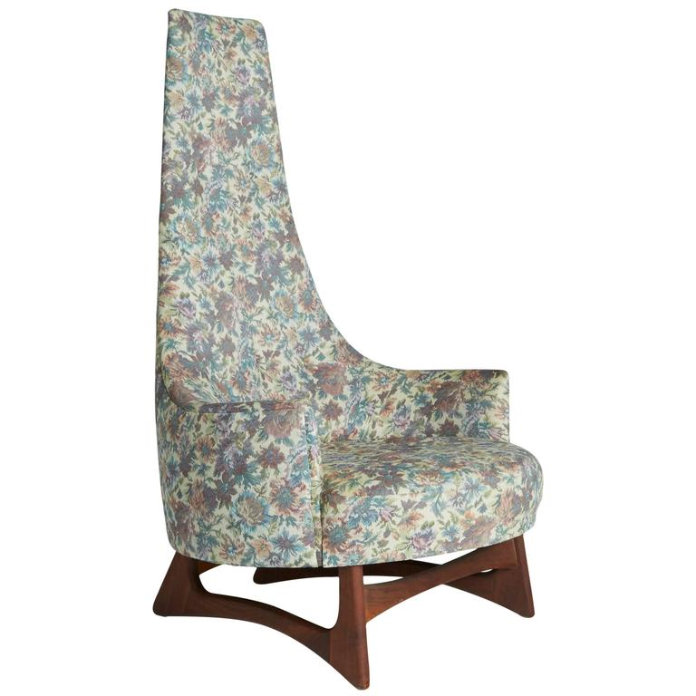 High Back Lounge Chair By Adrian Pearsall For Craft Associates At 1stdibs