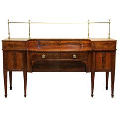 Massive 19th Century Mahogany Sideboard