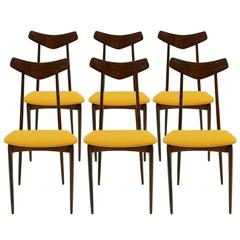 Set of Six Mid-Century Chairs