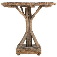 Rustic Twig Table