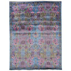 21st Century Multicolored Indian Rug