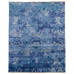 Blue Indian Rug
