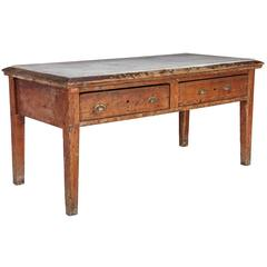 Victorian Country House Marble Table