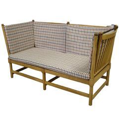 1960s Borge Mogensen Beech Spoke-Back Daybed Sofa, Denmark