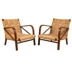 Pair of French Chairs in the Style of Audoux Minet
